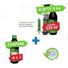 Chloraxid 2% 400 ml  promo akce 4+1