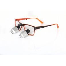 Prizmatické TTL lupové brýle 4,0 x
