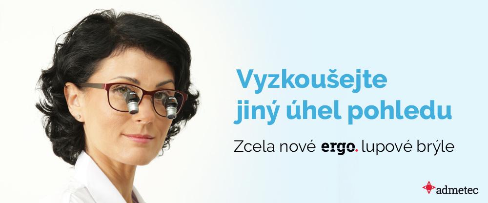 Vyzkoušejte jiný úhel pohledu - zcela nové ERGO lupové brýle